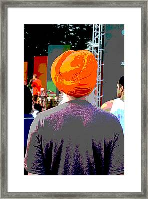 Turbante Framed Print