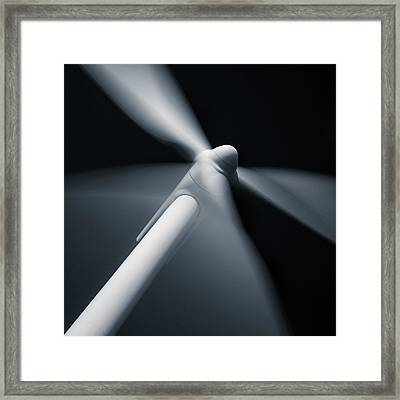 Wind Turbine Framed Print by Dave Bowman