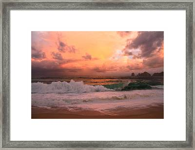 Framed Print featuring the photograph Turbulence  by Eti Reid