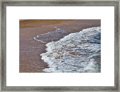 Turbulence Framed Print by Kaye Menner