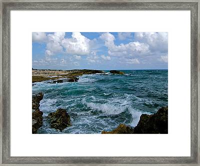 Framed Print featuring the photograph Turbulence by Paul Foutz
