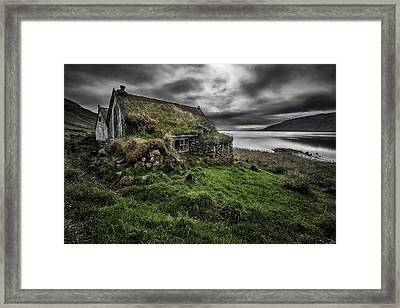 Turf And Stones Framed Print