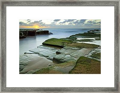 Turimetta Beach Sunrise Framed Print