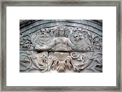 Turkey, Ephesus Marble Roman Carving Framed Print by Jaynes Gallery