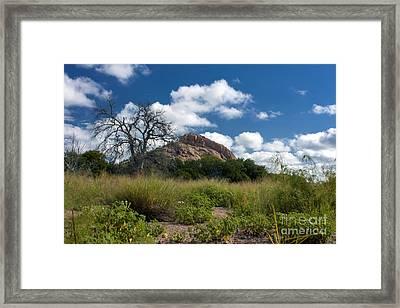 Turkey Hill Framed Print