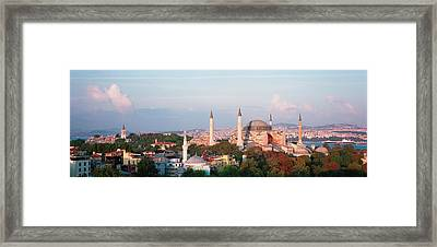 Turkey, Istanbul, Hagia Sofia Framed Print by Panoramic Images