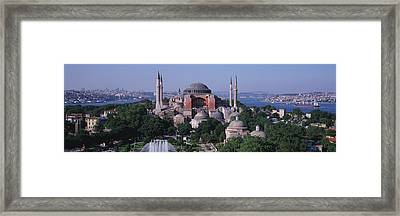 Turkey, Istanbul, Hagia Sophia Framed Print by Panoramic Images