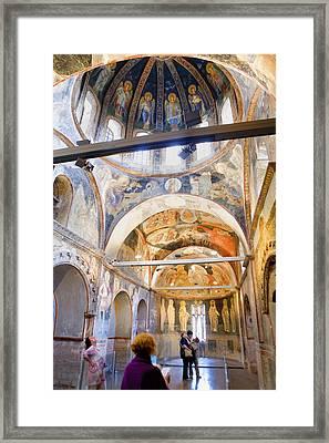 Turkey. Istanbul. Kahriye Camii Chora Framed Print