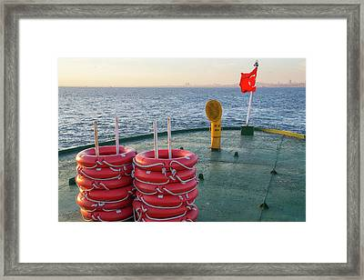 Turkey, Sea Of Marmara Framed Print by Emily Wilson