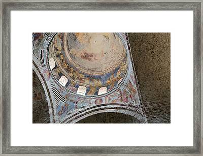 Turkey, Trabzon 13th Century St Sophia Framed Print