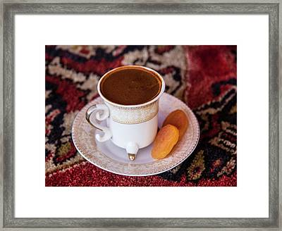 Turkey Turkish Coffee, Apricots Framed Print by Emily Wilson
