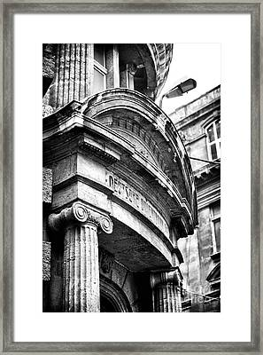 Turkish Archtiecture Framed Print by John Rizzuto