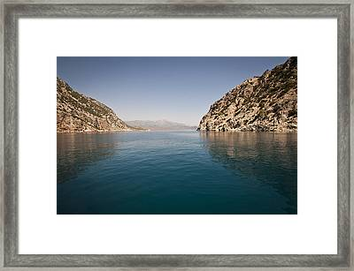 Turkish Bay Framed Print