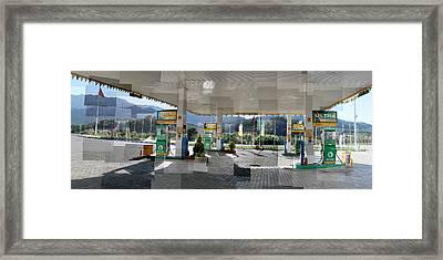 Turkish Gas Framed Print