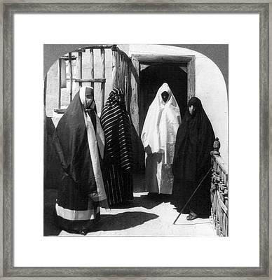 Turkish Harem, C1909 Framed Print