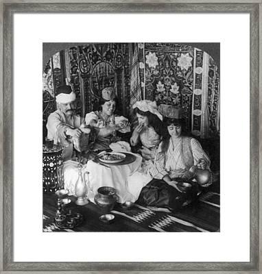 Turkish Harem, C1913 Framed Print by Granger