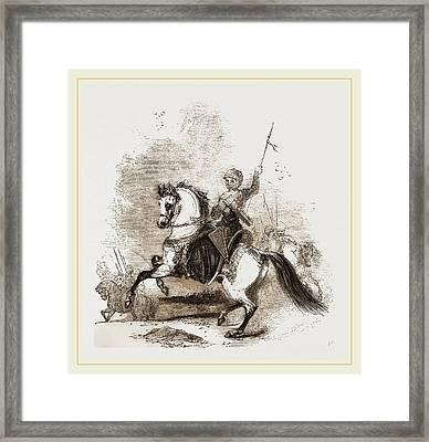 Turkish War Horse Framed Print by Litz Collection