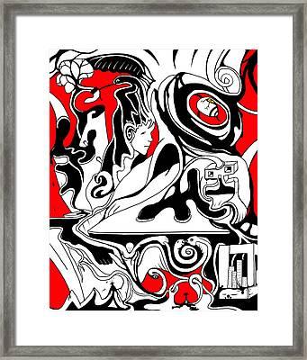 Turmoil Framed Print by Craig Tilley