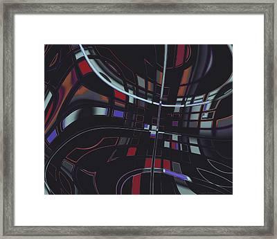 Turmoil Framed Print