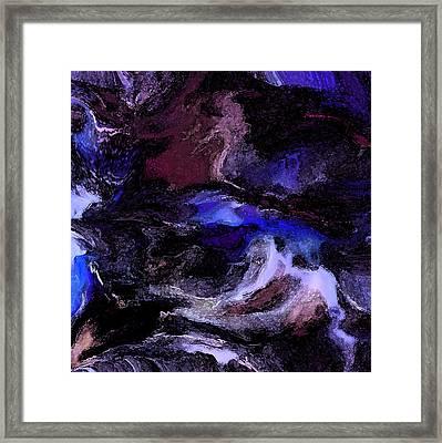 Turmoil Of The Mind Framed Print by Sherri's Of Palm Springs