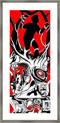 Turmoil Restraint Framed Print by Craig Tilley