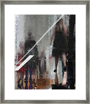 Turn Around My Only Framed Print by Empty Wall