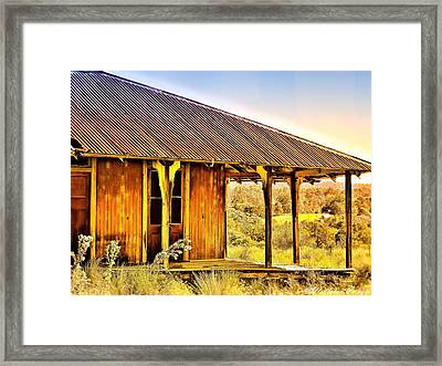 Turn Back Time Framed Print by Wallaroo Images