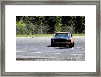 Turn Eight Boss Framed Print by Stephen Prestek
