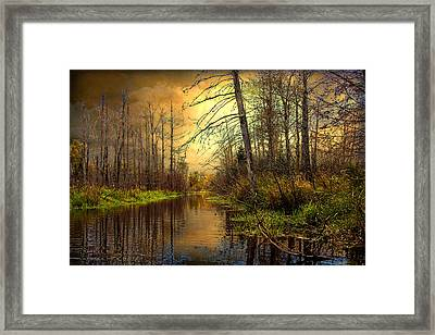 Turn Of Dawn Framed Print