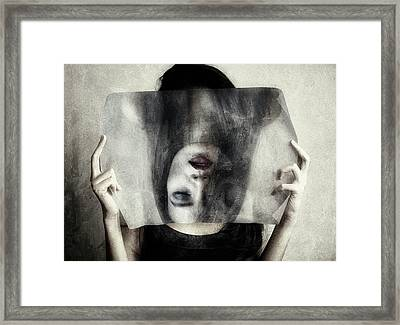 Turn Off Framed Print