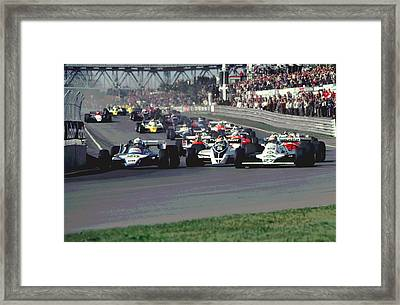 Turn One Framed Print by Mike Flynn
