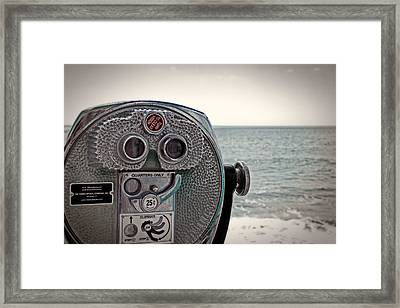 Turn To Clear The Ocean Framed Print by Tom Gari Gallery-Three-Photography
