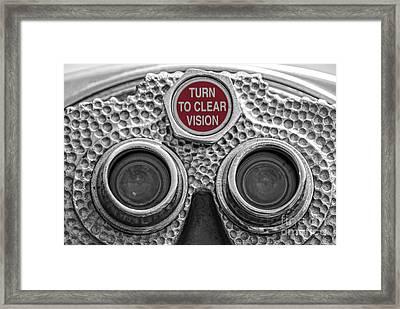 Turn To Clear Vision Framed Print by Juli Scalzi