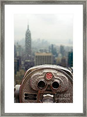 Turn To Clear Vision Framed Print by Ray Warren