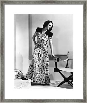 Turnabout, Mary Astor, 1940 Framed Print by Everett