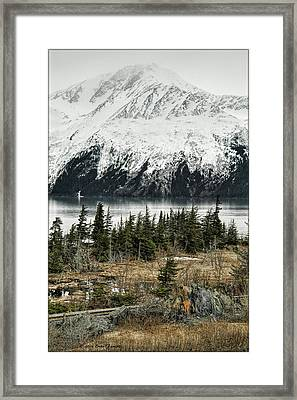 Turnagain Arm  Framed Print