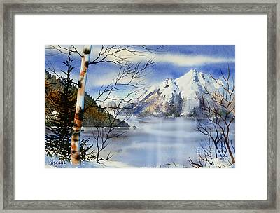Turnagain View Framed Print by Teresa Ascone