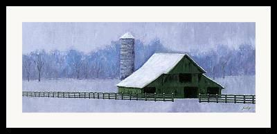 Cal Turner Barn Framed Prints