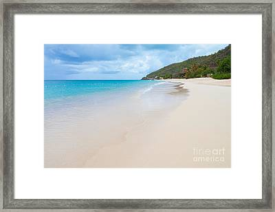 Turner Beach Antigua Framed Print