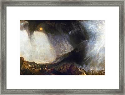 Turner Hannibal (247-183 B Framed Print by Granger