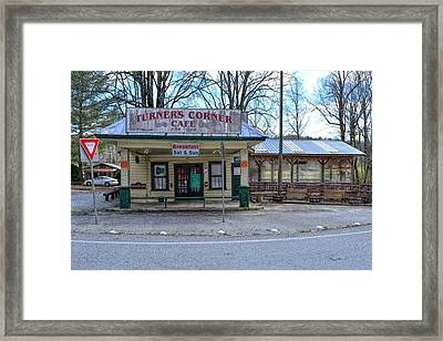 Turners Corner Framed Print by Bob Jackson