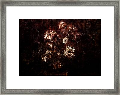 Turner's Flowers Framed Print