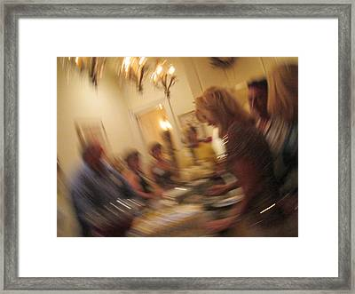 Turning 40 Framed Print