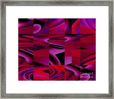 Turning Corners - Kristi Kruse Framed Print