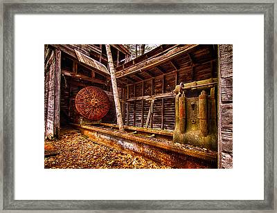 Turning Shed Redstone Quarry Conway Nh Framed Print