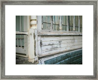 Think Back Framed Print by Paulette Maffucci