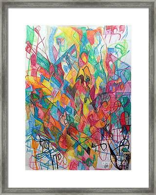 Thoughts Of Tsheuvah Framed Print