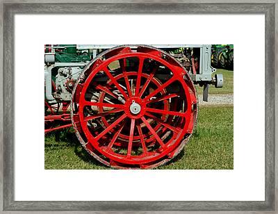 Turning Wheels Framed Print by Laurel Gillespie