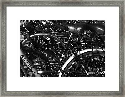 Framed Print featuring the photograph Turning Wheels by Maja Sokolowska