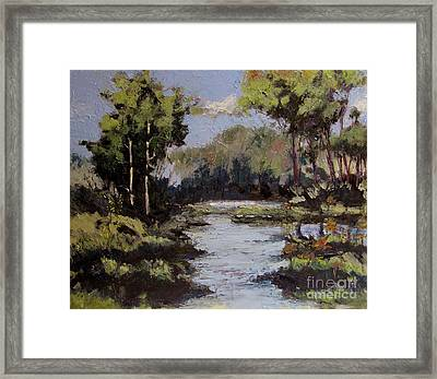 Turning Woods Back To Eden Series 5 Framed Print by Charlie Spear